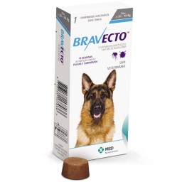 Bravecto  Anti Pulgas E Carrapatos 1000 Mg 20 A 40 Kg