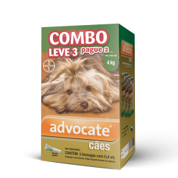 Advocate Caes Combo 0,4 Ml Pague 2 Leve 3