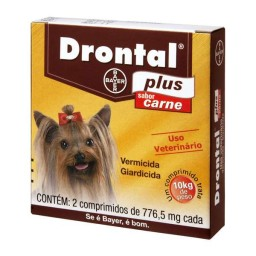 Drontal Plus Carne 660 Mg 2 comprimidos