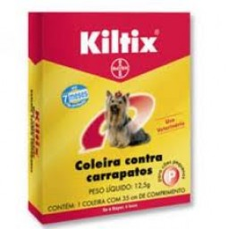 Coleira  Kiltix 12,5 P - Anti Carrapatos