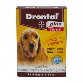 Drontal Plus Carne 660 Mg 4 Cp Vermifugo