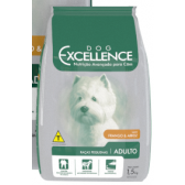 DOG EXCELLENCE HI-PREMIUM - RAÇAS PEQUENAS FRANGO & ARROZ – ADULTO