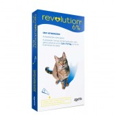 Revolution 45 Mg Gatos De 2,6 A 7,5 Kg - 3 Pipetas