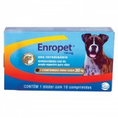 Enropet Palatavel 150Mg 10Comp Antimicrobiano