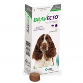 Bravecto Anti Pulgas E Carrapatos 500 Mg 10 A 20 Kg