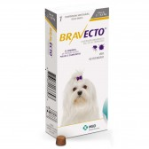 Bravecto Anti Pulgas E Carrapatos 112,5 Mg 2 A 4,5 Kg