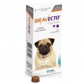 Bravecto Anti Pulgas E Carrapatos 250 Mg 4,5 A 10 Kg
