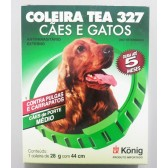 Coleira Tea 327 Cao 28G Anti Pulga E Carrapato