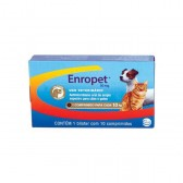 Enropet Palatavel 50 Mg 10 Cpr Antibiotico
