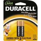 Pilha Duracell Palito 2 Unds