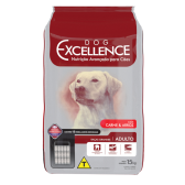DOG EXCELLENCE HI-PREMIUM - RAÇAS GRANDES CARNE & ARROZ – ADULTO