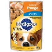 Pedigree Sachê Adulto Frango 100gr